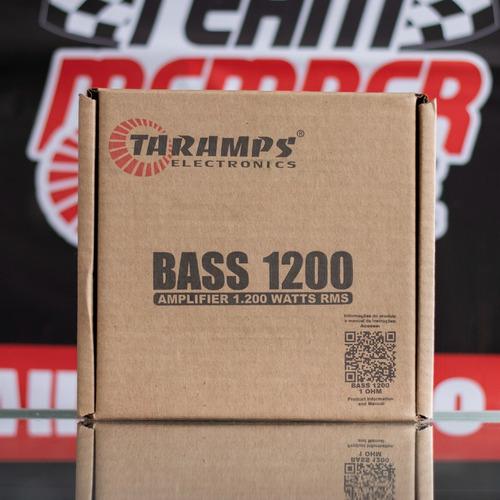 Taramps. Amplificador Monoblock 1200rms Bass1200 A 1 Ohm