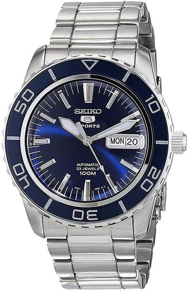 Reloj Seiko Azul Automatico