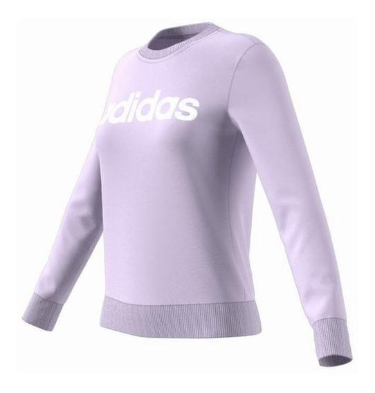 Buzo adidas Linear Violeta Mujer Fm 6432