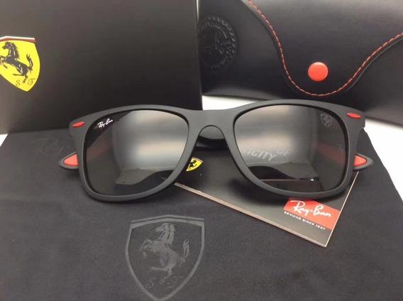 Oculos De Sol Masculino Scuderia Ferrari Liteforce Rb 4195 M