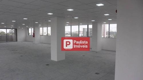 Laje Para Alugar, 633 M² Por R$ 29.000,00/mês - Chácara Santo Antônio (zona Sul) - São Paulo/sp - Lj0057