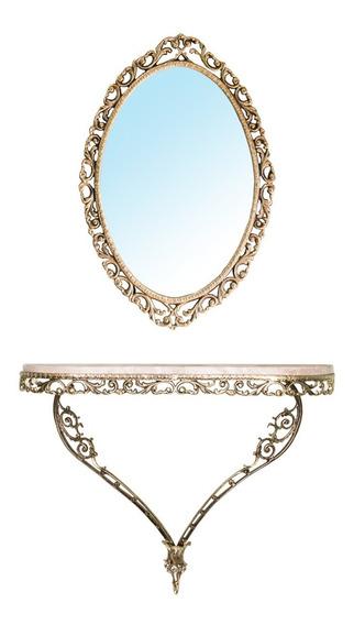Aparador E Espelho Completo Espelho+granito Decoração