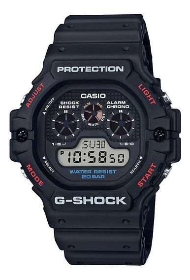 Relógio Casio G-shock Preto Dw-5900-1dr + Garantia + Nfe
