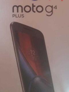 Celular Moto G4 Plus Nuevo