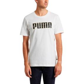 Camiseta Playera Puma Camo Hombre Caballero Remera M Xxl 2xl