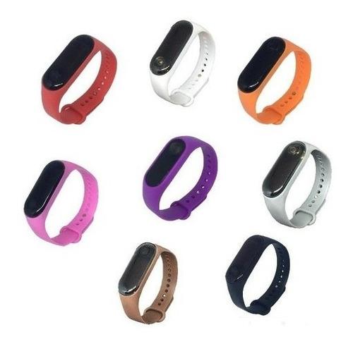 Kit 5 Relógio Bracelete Esportivo Digital Unissex Led Barato
