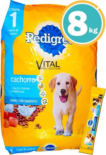 Ración Perro - Pedigree Cachorros + Obsequio Y Envío Gratis