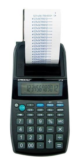 Calculadora De Impressao 12 Digitos Lp18 Procalc