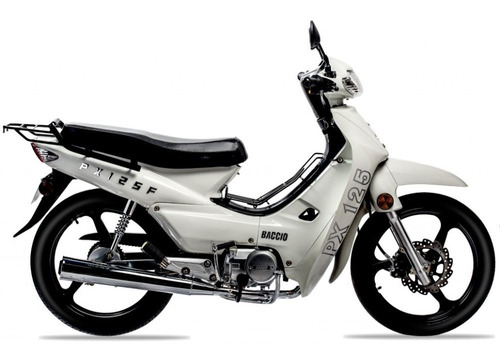 Imagen 1 de 9 de Baccio Pollerita Px 125 F 36 Cuotas Delcar Motos®