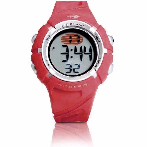 Relógio Mormaii Digital Vermelho 5 Atm