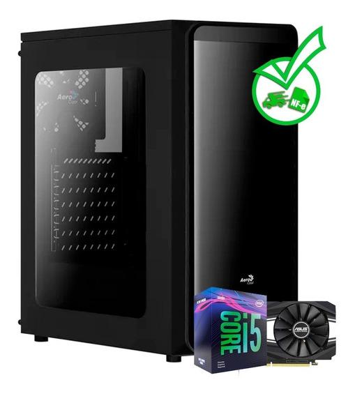 Computador Gamer Core I5 9400f + Gtx 1660 + Ssd 120gb + Nf