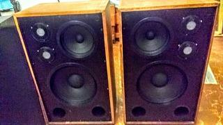 Bafles Leea-box 120+120 Rms Para Exigentes