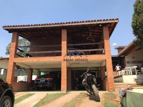 Chácara À Venda, 1500 M² Por R$ 570.000,00 - Maracanã - Jarinu/sp - Ch0078