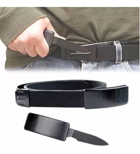Cinturón Que Se Convierte En Cuchillo Defensa Personal Wow
