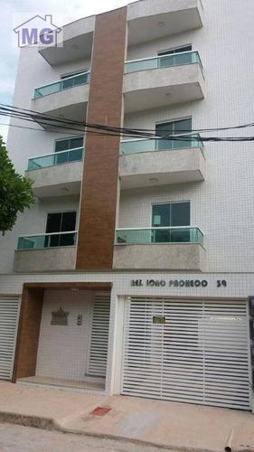 Imagem 1 de 8 de Apartamento Com 2 Dormitórios À Venda, 60 M² Por R$ 285.000,00 - Jardim Vitória - Macaé/rj - Ap0197