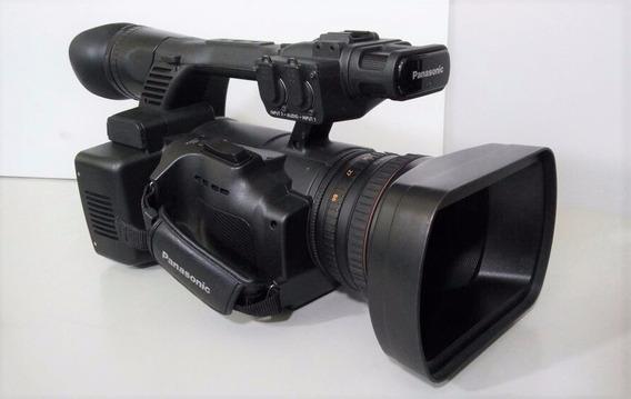 Camera Filmadora Profissional Hd Panasonic Ag-ac160p