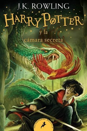 Harry Potter 2 - La Cámara Secreta - J. K. Rowling