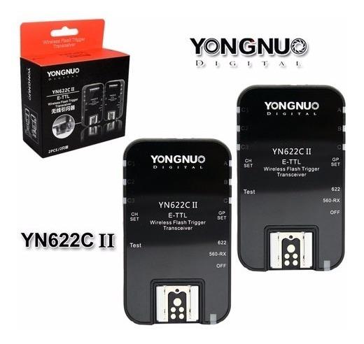 Radio Flash Yongnuo E-ttl Yn622 Ii Canon Yn-622c Yn622 (par)
