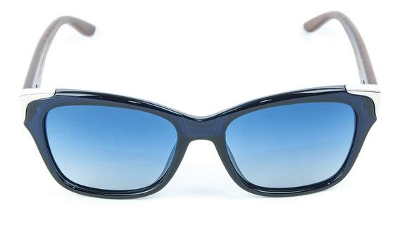 Óculos De Sol Polarizado Zabo Barcelona Azul Lente Azul