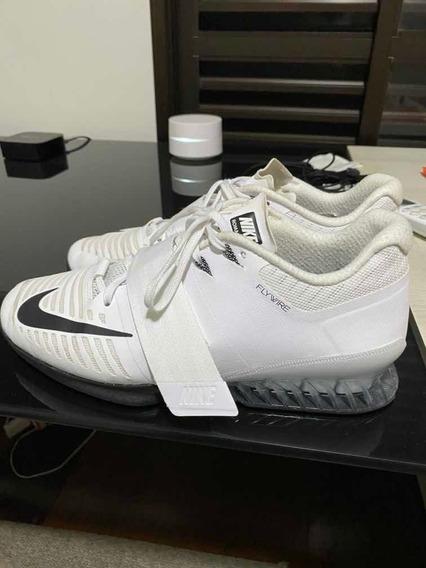 Tenis Nike Romaleos 3 Branco Lifter Tam 43