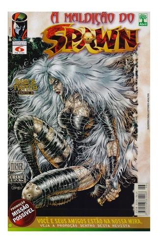 A Maldição Do Spawn 6 Gibi Abril Jovem Image Comics
