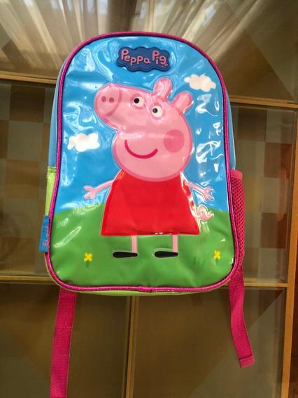 Mochila Espalda Jardin 12pulg Peppa Pig 3d A Reparar