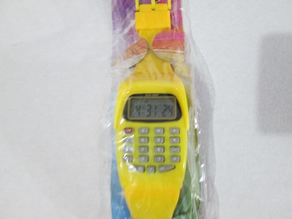 Reloj De Pulso Retro Con Calculadora Funciones Basicas Y Msi