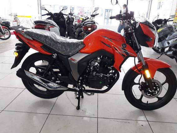 Moto Haojue Dk 150 Laranja 2019 *cg Ybr Fazer*