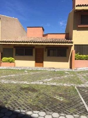 Renta De Casa Dentro De Condominio En Jiutepec, Morelos