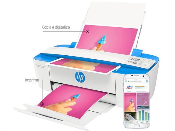 Multifuncional Impressora Hp Deskjet 3776 Wifi Copiadora