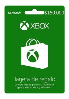 Xbox Live Prepago $150.000 Código Digital