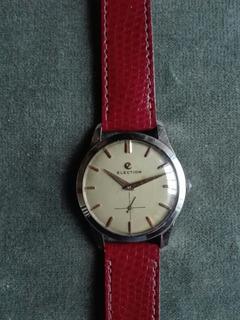Reloj Election 645 Antiguo A Cuerda De Hombre
