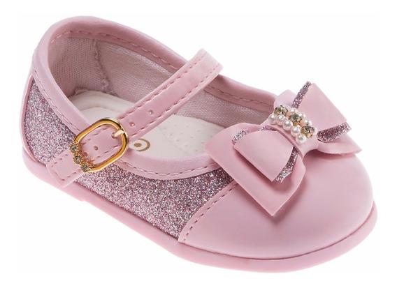 Sapato Boneca Infantil Feminino Rosa - Pimpolho