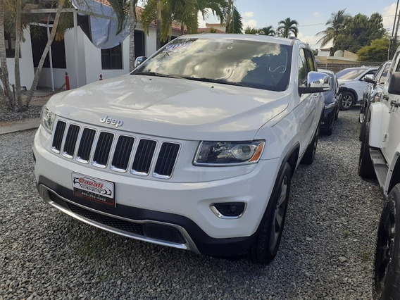 Jeep Grand Cherokee Limited Blanca 2014