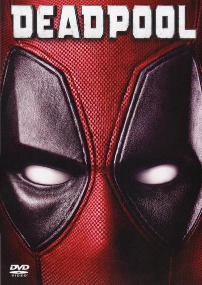 Deadpool Marvel Ryan Reynolds Pelicula Original Dvd
