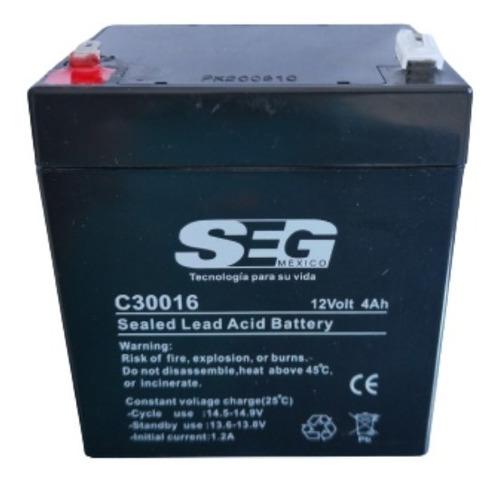 Imagen 1 de 4 de Batería Recargable 12v/4ah Mhb Terminal F1 Ms4-12 Seg C30016