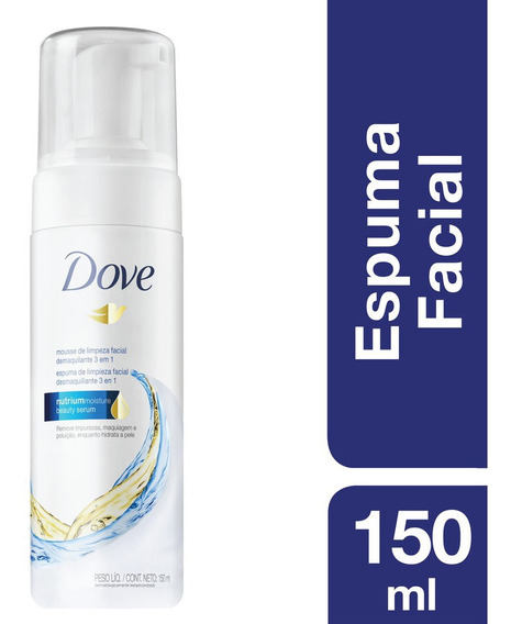 Espuma Facial Dove 3 En 1 150ml