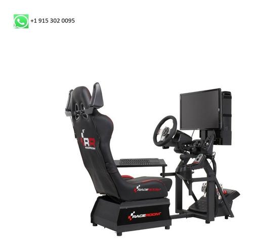 Raceroom Simulator Rr3055 + Volante G920 + Pc + Sonido Seat