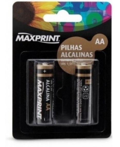 Pilha Alcalina Maxprint Aaa Pal C/2 Aaa 756358
