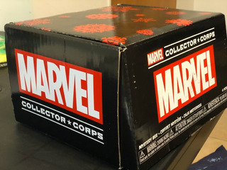 Marvel Collector Corps Funko Pop Amazon Groot Thor Remera