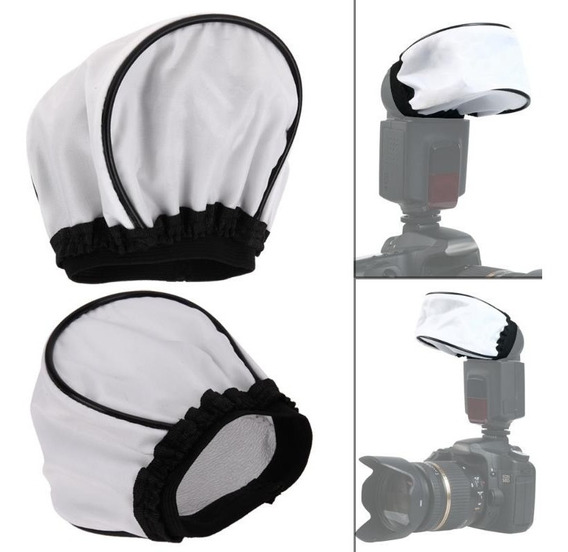 Difusor Flash Soft Universal Flash Nikon Canon Softbox