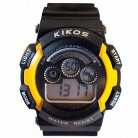 Relógio Masculino Digital Iluminação Led Alarme Caixa 4,6 Cm