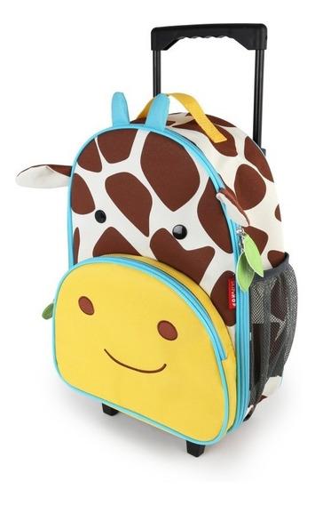 Mala Mochila De Rodinha Zoo Girafa - Skip Hop