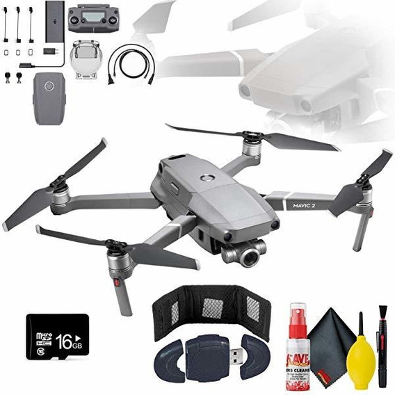 Camara Mavic Zoom 2 Drone Bundle Controlador Flight Bateri ®