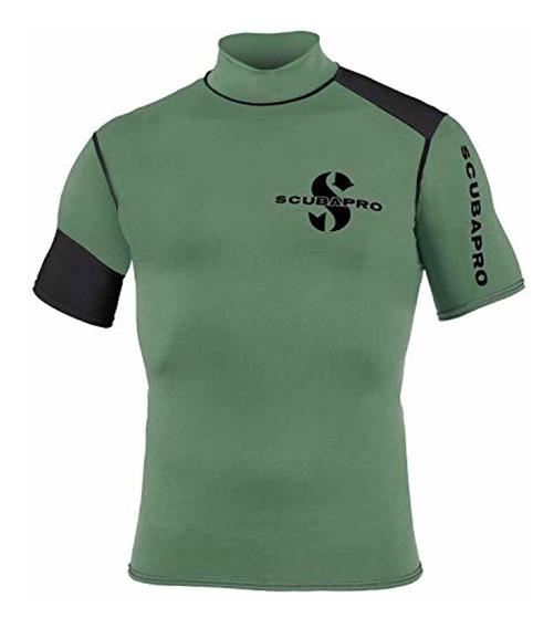 Scubapro Mens Eco Short Sleeve Rash Guard