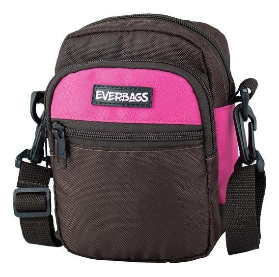 Shoulder Bag Bolsa Tira Colo Necessaire Pochete Everbags Rs