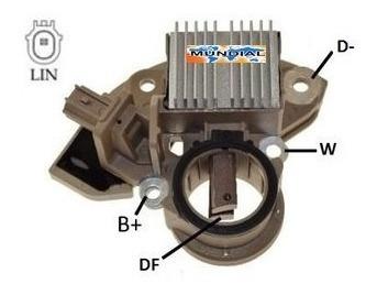 Regulador De Voltagem Ikro Ik 5191 Civic 1.8 2012 / 2014