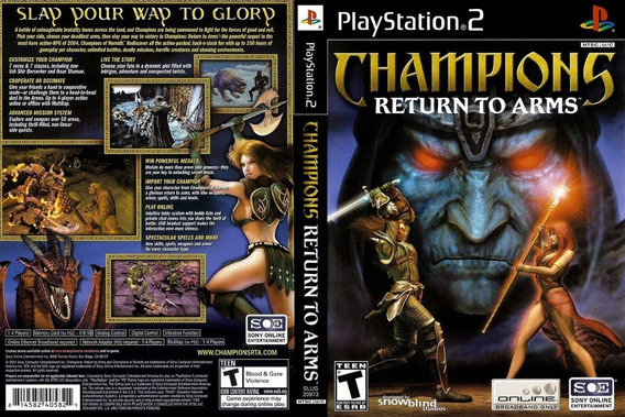 Jogo Champions: Return To Arms Ps2
