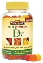 Nature Made Vitamin D3 Adult Gummies 90 Balas (2000iu)