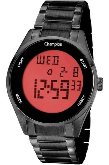 Relógio Digital Unissex Champion Ch40231d Preto